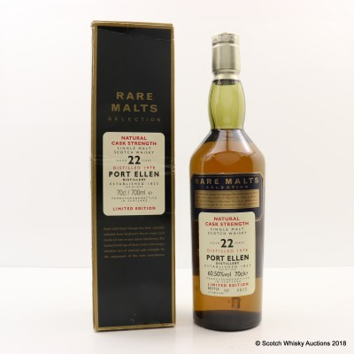 Rare Malts Port Ellen 1978 22 Year Old