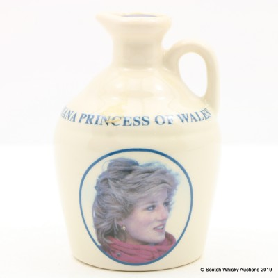 Macallan 10 Year Old Diana Princess of Wales Mini Pointers Decanter 5cl