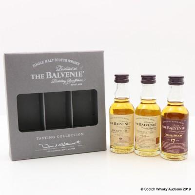 Balvenie Tasting Collection Minis 3 x 5cl