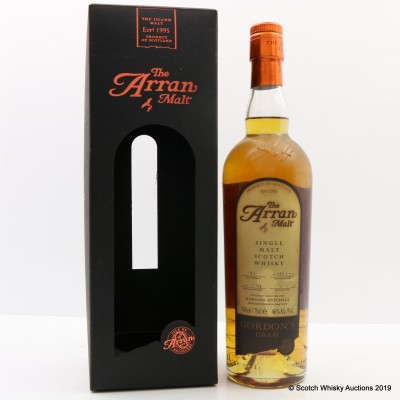 Arran 1998 Single Cask Selected For Gordon Mitchell