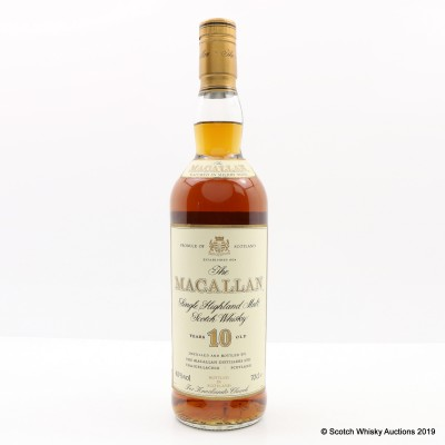 Macallan 10 Year Old Old Style For Knockando Church