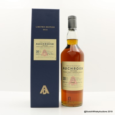 Auchroisk 30 Year Old 2012 Release