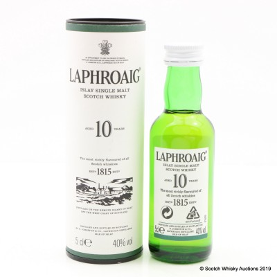 Laphroaig 10 Year Old Mini 5cl