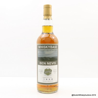 Ben Nevis 1996 Single Cask #2121 Whiskybase