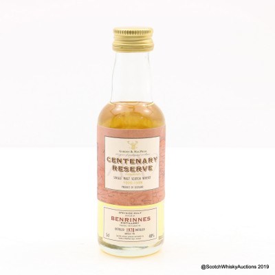 Benrinnes 1978 Centenary Reserve Mini 5cl