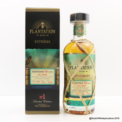 Trinidad 2002 14 Year Old Plantation Rum
