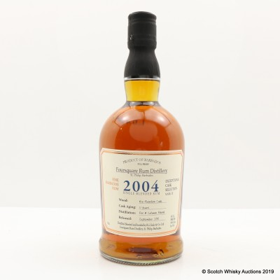 Foursquare 2004 11 Year Old Single Blended Rum Exceptional Cask Selection Mark III