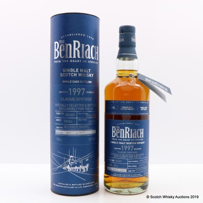 BenRiach 1997 18 Year Old UK Exclusive