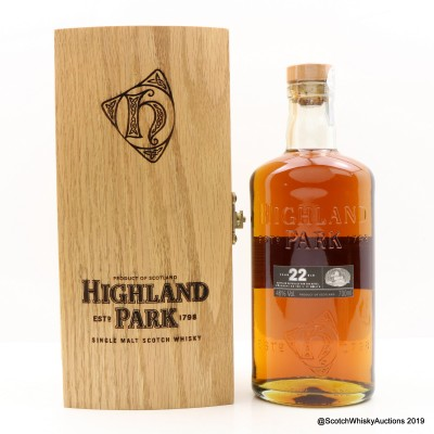 Highland Park 22 Year Old Waldhaus Am See - St. Moritz Exclusive