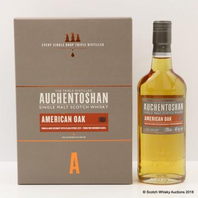 Auchentoshan American Oak 20cl & 2 X Glasses