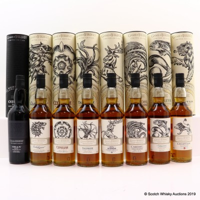 Diageo Game Of Thrones Collection 8 x 70cl