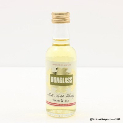 Dunglass 5 Year Old Mini 5cl