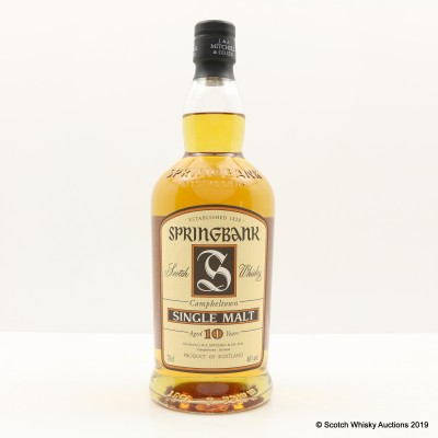 Springbank 10 Year Old Old Style