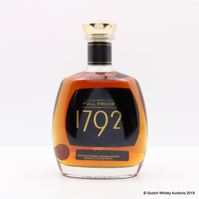 Barton 1792 Full Proof Bourbon 75cl