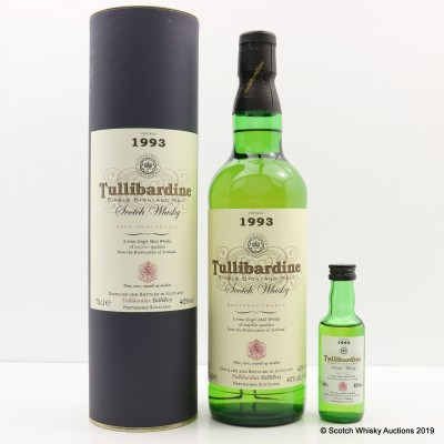 Tullibardine 1993 Vintage with Matching Mini