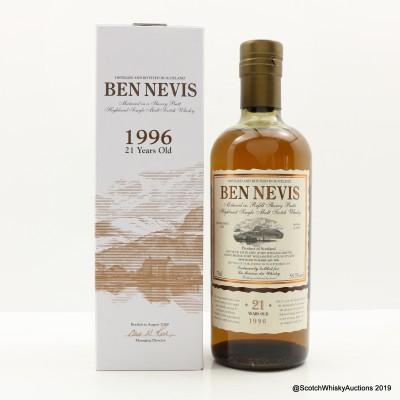 Ben Nevis 1996 21 Year Old