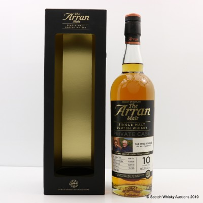 Arran 2008 10 Year Old Private Cask The Wee Double