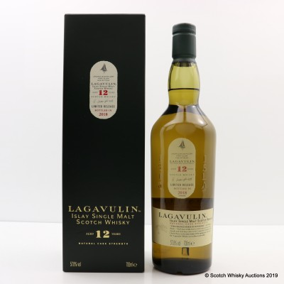 Lagavulin 12 Year Old 2018 Release