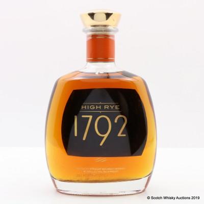 Barton 1792 High Rye 75cl