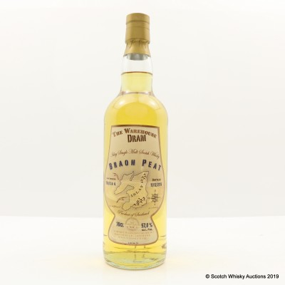 Braon Peat Cask Strength Batch #4 Warehouse Dram