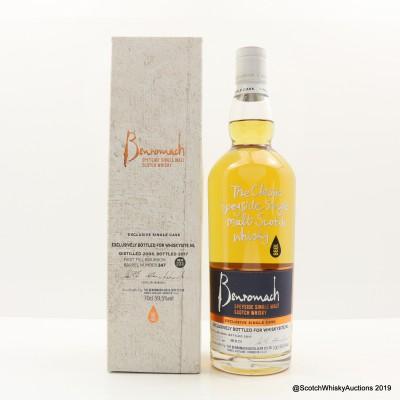 Benromach 2008 Single Cask #347 For Whiskysite.nl