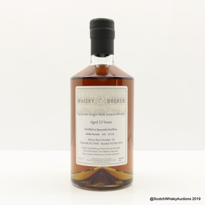 Speyside 1995 23 Year Old Whisky Broker