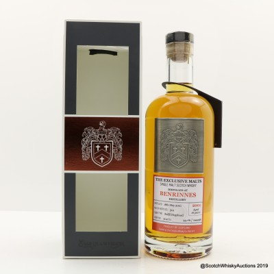Benrinnes 2001 16 Year Old Creative Whisky Co