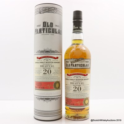 Braeval 1997 20 Year Old Old Particular