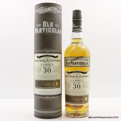 Cambus 1988 30 Year Old Old Particular