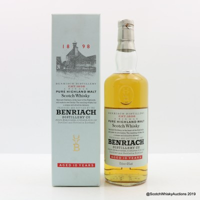BenRiach 10 Year Old Old Style