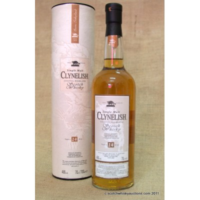 Clynelish 14 Old Style bottle and label