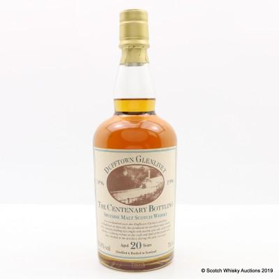 Dufftown-Glenlivet 20 Year Old Centenary Bottling