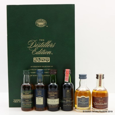 Distillers Edition Collection Classic Malts Minis 6 X 5cl