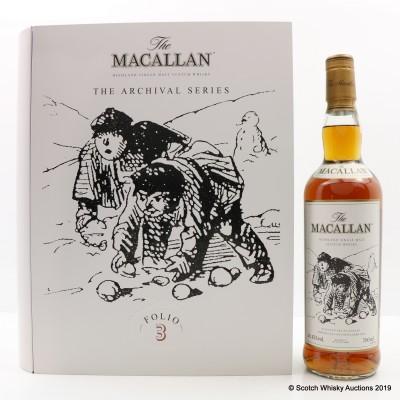 Macallan The Archival Series - Folio 3