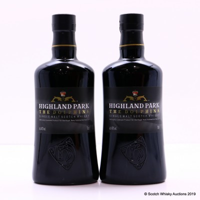 Highland Park The Dolphins Royal Navy Submarine Service Bottling 2 x 70cl