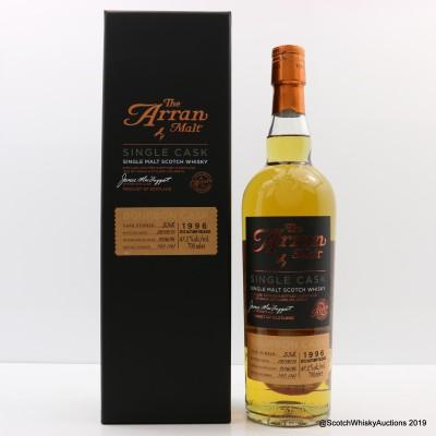 Arran 1996 Bourbon Single Cask #538