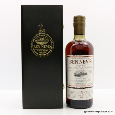 Ben Nevis 1998 15 Year Old Single Cask #586