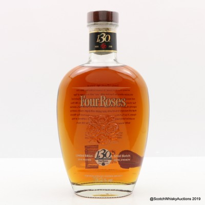 Four Roses 130th Anniversary Small Batch 2018 Release