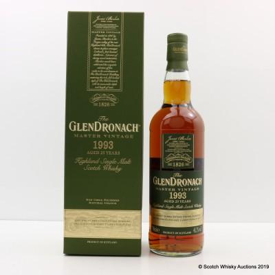 GlenDronach 1993 25 Year Old Master Vintage