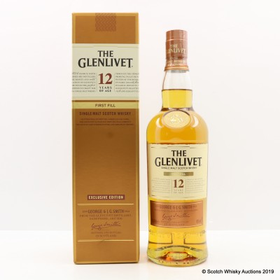 Glenlivet 12 Year Old First Fill