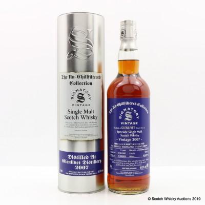 Glenlivet 2007 11 Year Old Signatory Whisky Exchange Exclusive (Cask #900131)