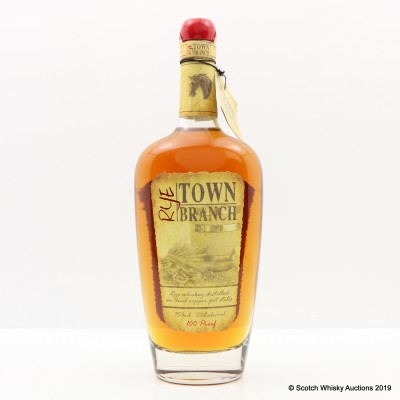 Town Branch 100° Proof Rye 75cl