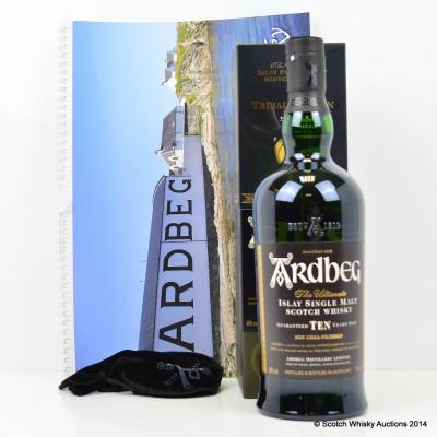 Ardbeg 10 Year Old Tribal Edition With Calendar