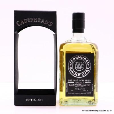 Balmenach-Glenlivet 2005 13 Year Old Cadenhead's For Whiskyrestaurant De Cluysenaer