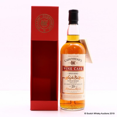 Glen Moray-Glenlivet 1992 23 Year Old Cadenhead's