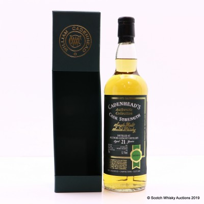 Aultmore-Glenlivet 1997 21 Year Old Cadenhead's