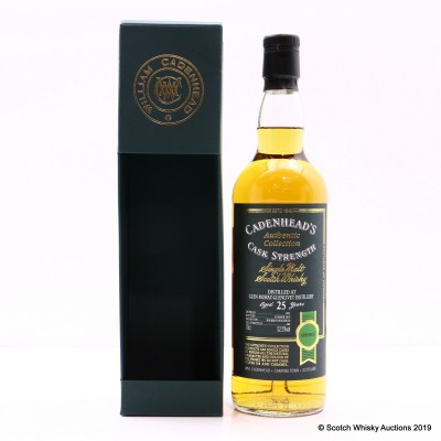 Glen Moray-Glenlivet 1992 25 Year Old Cadenhead's