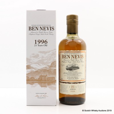 Ben Nevis 1996 21 Year Old for La Maison Du Whisky
