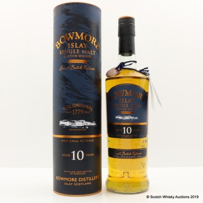 Bowmore Tempest Feis Ile 2010 10 Year Old Small Batch Release #1