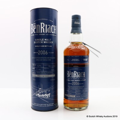 BenRiach 2006 11 Year Old Single Cask #5295
